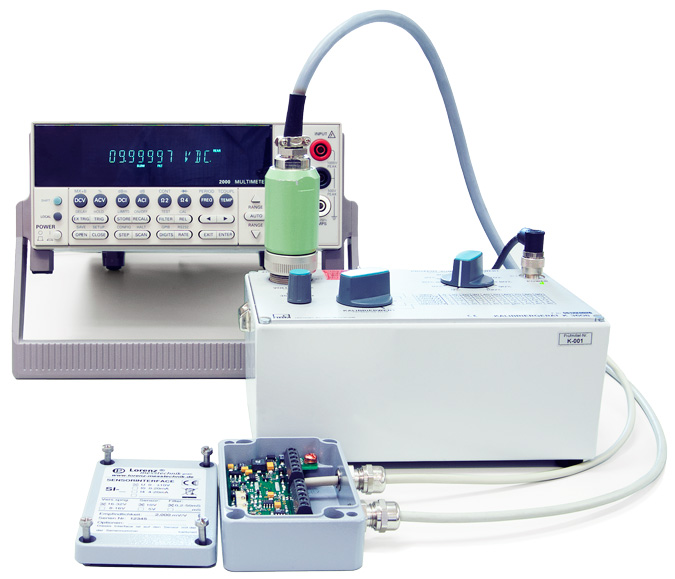 Proprietary Calibrations of Voltage Ratio mV/V