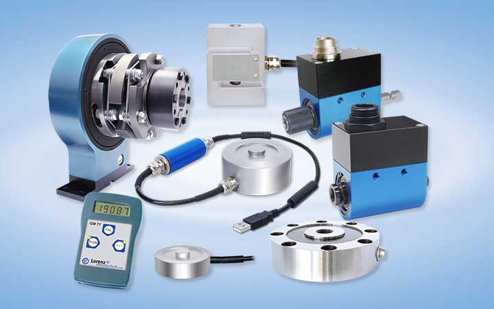 Our Products: Torque Sensors, Force Cells, Data Logger, Amplifiers and Measurement Electronics
